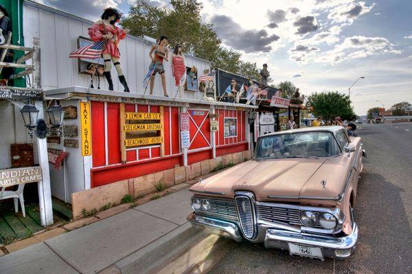 En Estados Unidos el coche es el rey