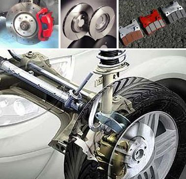 Esquema montaje rueda, discos y pastillas de freno