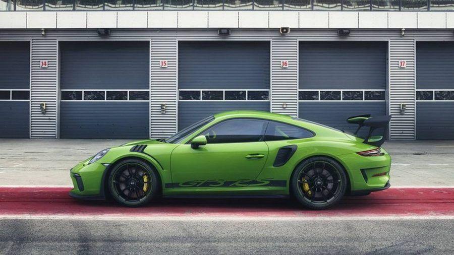 Nueva imagen para el Porsche 911 GT3 RS 2018