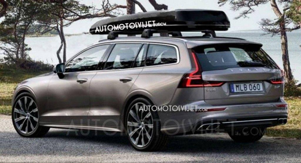 Volvo V60 2019 ¿primeras fotos oficiales?