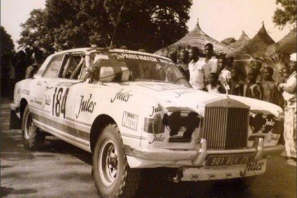 A la venta el Rolls Royce que compitió en el rally Dakar