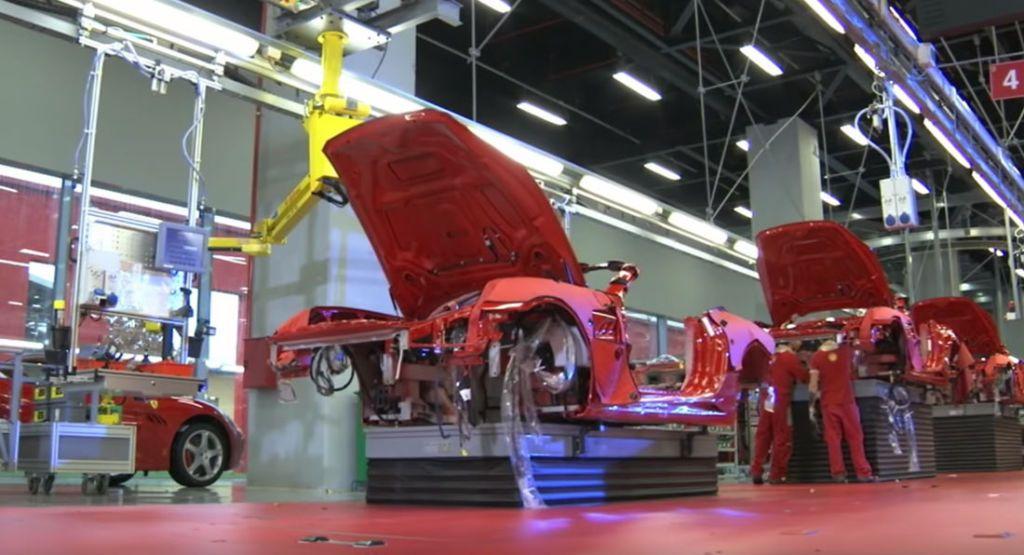 Ferrari suspende la producción en Módena y Maranello hasta el 27 de marzo
